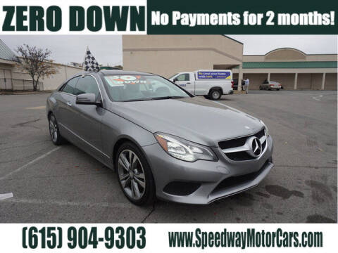 2014 Mercedes-Benz E-Class for sale at Speedway Motors in Murfreesboro TN