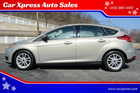 2015 Ford Focus for sale at Car Xpress Auto Sales in Pittsburgh PA