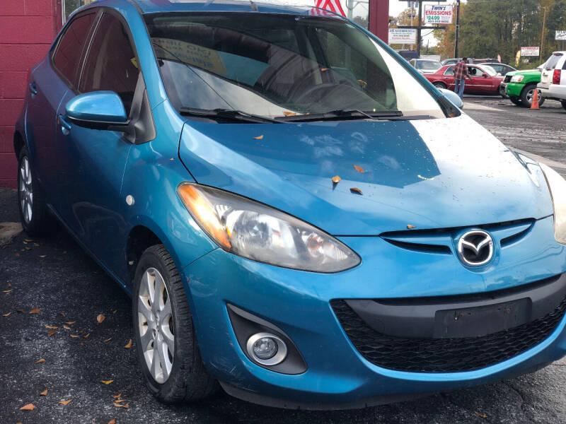 2012 Mazda MAZDA2 for sale at TEAM AUTO SALES in Atlanta GA