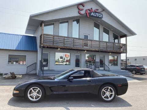 2001 Chevrolet Corvette for sale at Epic Auto in Idaho Falls ID