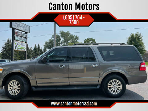 2014 Ford Expedition EL for sale at Canton Motors in Canton SD