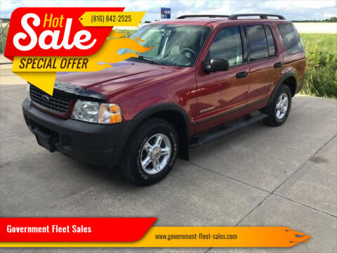 2004 Ford Explorer for sale at Government Fleet Sales in Kansas City MO