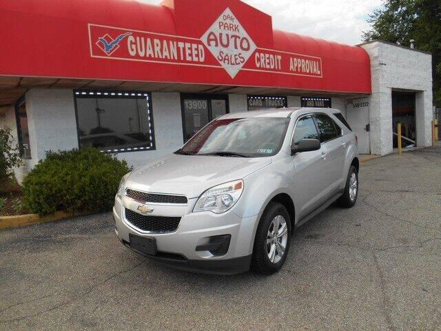 2014 Chevrolet Equinox for sale at Oak Park Auto Sales in Oak Park MI