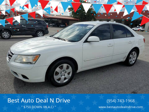 2009 Hyundai Sonata for sale at Best Auto Deal N Drive in Hollywood FL