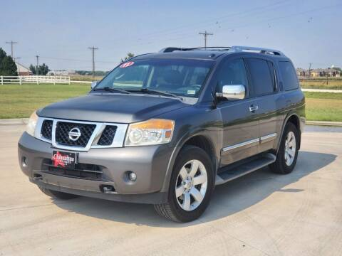 2011 Nissan Armada for sale at Chihuahua Auto Sales in Perryton TX