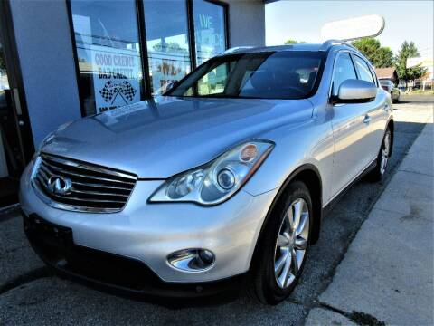 2012 Infiniti EX35 for sale at New Concept Auto Exchange in Glenolden PA