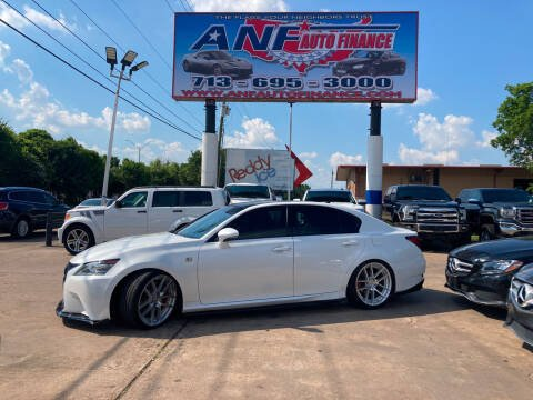 2013 Lexus GS 350 for sale at ANF AUTO FINANCE in Houston TX