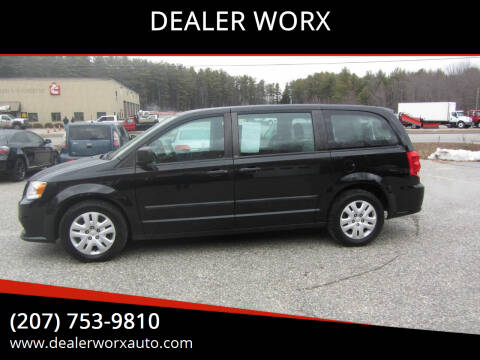 2014 Dodge Grand Caravan for sale at DEALER WORX in Auburn ME