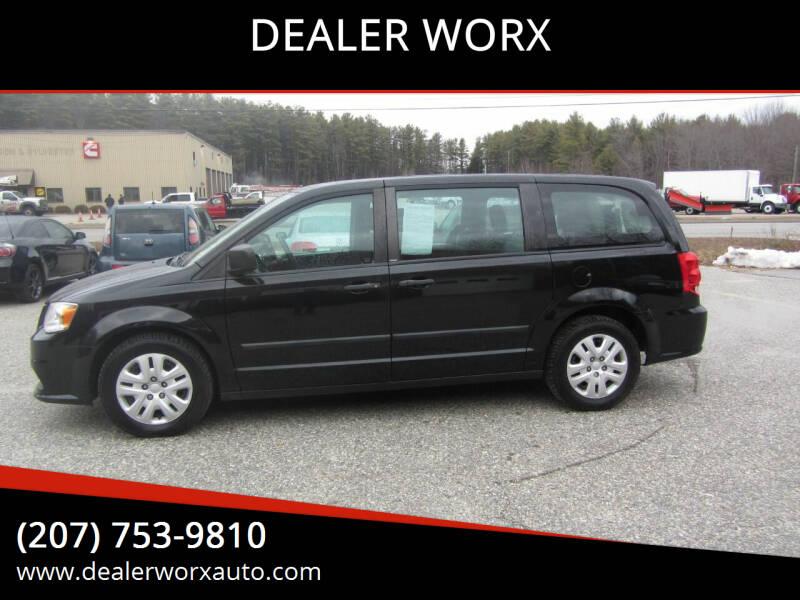2014 Dodge Grand Caravan for sale at DEALER WORX in Auburn ME