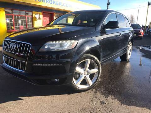 2013 Audi Q7 for sale at New Wave Auto Brokers & Sales in Denver CO