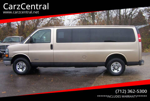 2005 Chevrolet Express Passenger for sale at CarzCentral in Estherville IA