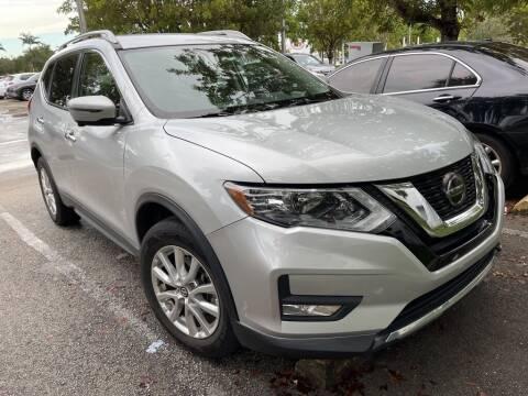 2018 Nissan Rogue for sale at DORAL HYUNDAI in Doral FL