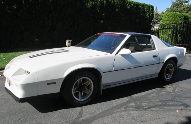 1984 Chevrolet Camaro for sale at Top Notch Motors in Yakima WA