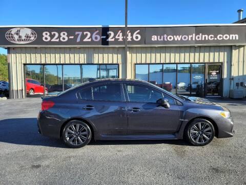 2018 Subaru WRX for sale at AutoWorld of Lenoir in Lenoir NC