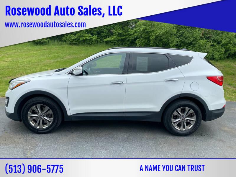 2014 Hyundai Santa Fe Sport for sale at Rosewood Auto Sales, LLC in Hamilton OH