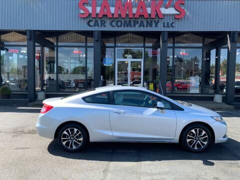 2013 Honda Civic for sale at Siamak's Car Company llc in Salem OR