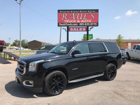 2015 GMC Yukon for sale at RAUL'S TRUCK & AUTO SALES, INC in Oklahoma City OK