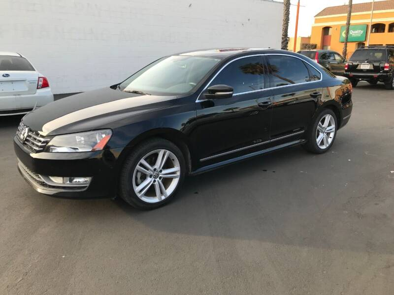 2013 Volkswagen Passat for sale at Shoppe Auto Plus in Westminster CA