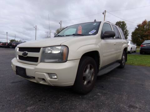2009 Chevrolet TrailBlazer for sale at Pool Auto Sales Inc in Spencerport NY