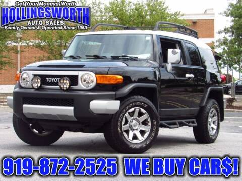 2014 Toyota FJ Cruiser for sale at Hollingsworth Auto Sales in Raleigh NC