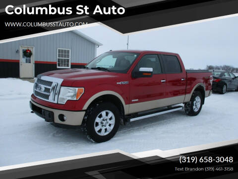 2012 Ford F-150 for sale at Columbus St Auto in Crawfordsville IA