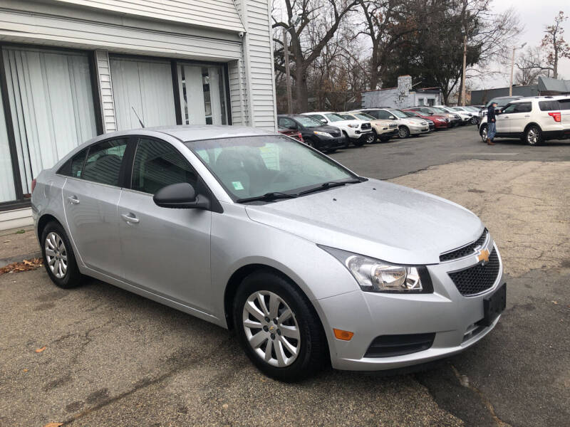 2011 Chevrolet Cruze for sale at Chris Auto Sales in Springfield MA