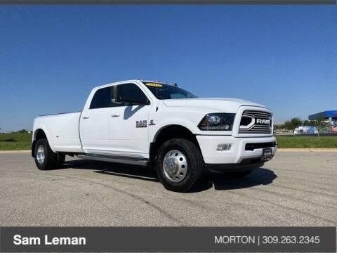 2018 RAM Ram Pickup 3500 for sale at Sam Leman CDJRF Morton in Morton IL