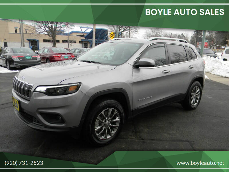 2019 Jeep Cherokee for sale at Boyle Auto Sales in Appleton WI