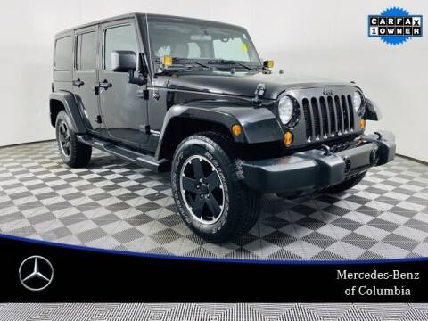2012 Jeep Wrangler Unlimited for sale at Preowned of Columbia in Columbia MO