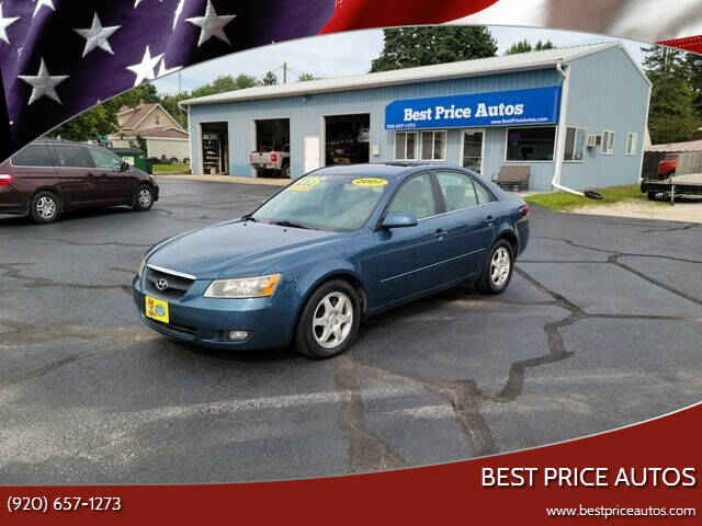 2007 Hyundai Sonata for sale at Best Price Autos in Two Rivers WI