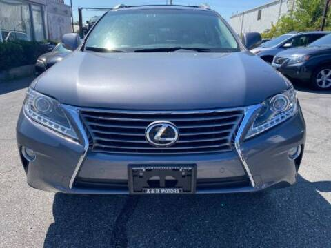 2013 Lexus RX 350 for sale at A&R Motors in Baltimore MD