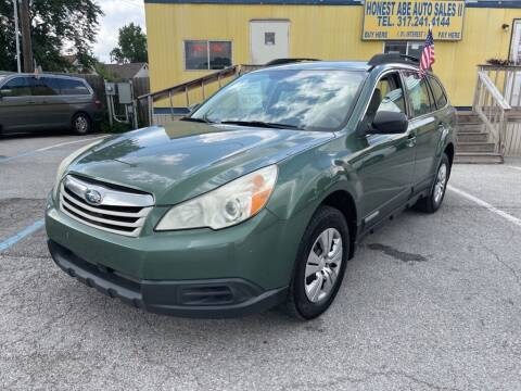 2011 Subaru Outback for sale at Honest Abe Auto Sales 2 in Indianapolis IN