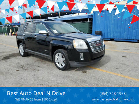 2012 GMC Terrain for sale at Best Auto Deal N Drive in Hollywood FL
