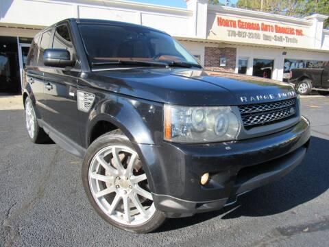 2011 Land Rover Range Rover Sport for sale at North Georgia Auto Brokers in Snellville GA