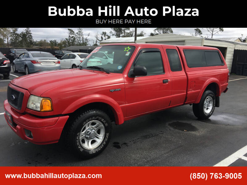2004 Ford Ranger for sale at Bubba Hill Auto Plaza in Panama City FL