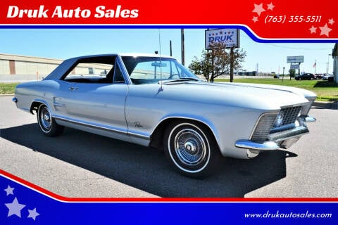 1963 Buick Riviera for sale at Druk Auto Sales in Ramsey MN
