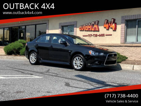 2015 Mitsubishi Lancer for sale at OUTBACK 4X4 in Ephrata PA