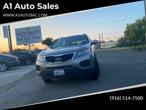 2013 Kia Sorento for sale at A1 Auto Sales in Sacramento CA