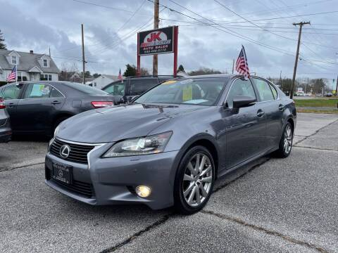2013 Lexus GS 350 for sale at JK & Sons Auto Sales in Westport MA