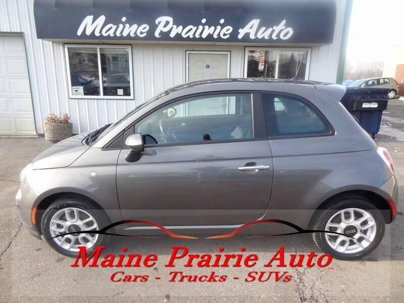 2013 FIAT 500 for sale at Maine Prairie Auto INC in Saint Cloud MN