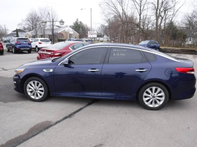 2017 Kia Optima for sale at Dave's Car Corner in Hartford City IN