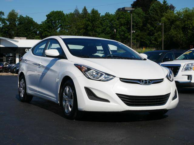 2016 Hyundai Elantra for sale at GRANITE RUN PRE OWNED CAR AND TRUCK OUTLET in Media PA