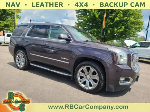 2015 GMC Yukon for sale at R & B Car Company in South Bend IN
