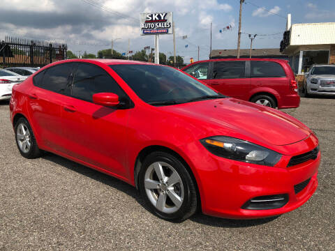 2016 Dodge Dart for sale at SKY AUTO SALES in Detroit MI
