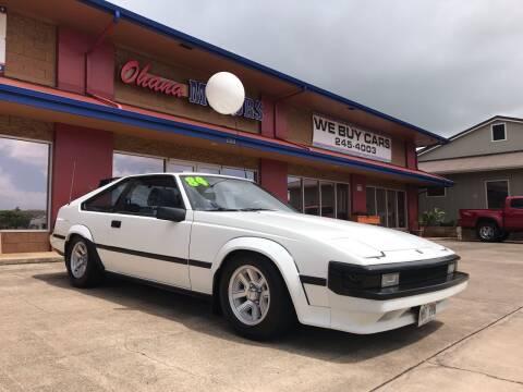 1984 Toyota Celica for sale at Ohana Motors in Lihue HI