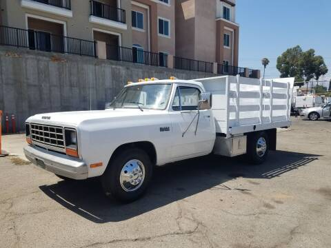 1985 Dodge Ram Pickup 3500 for sale at Vehicle Center in Rosemead CA