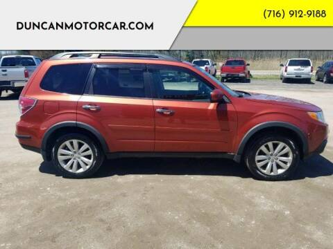 2011 Subaru Forester for sale at DuncanMotorcar.com in Buffalo NY