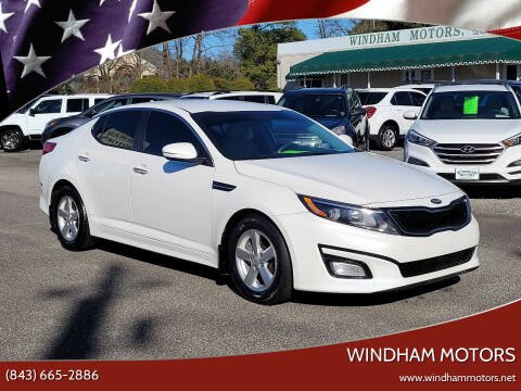 2015 Kia Optima for sale at Windham Motors in Florence SC