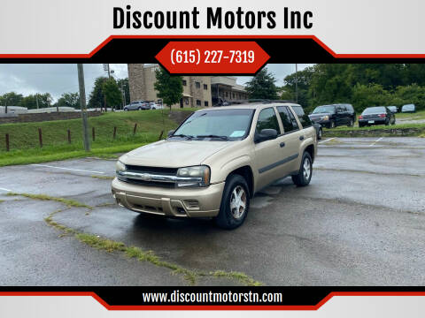 2005 Chevrolet TrailBlazer for sale at Discount Motors Inc in Nashville TN