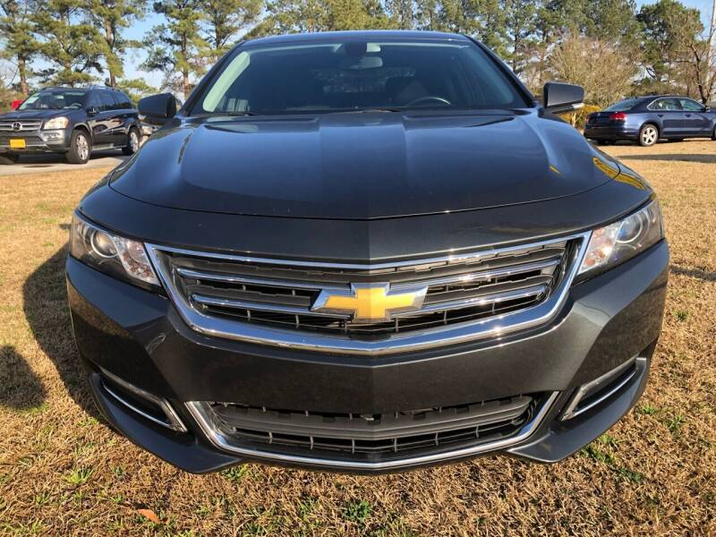 2018 Chevrolet Impala for sale at Greenville Motor Company in Greenville NC